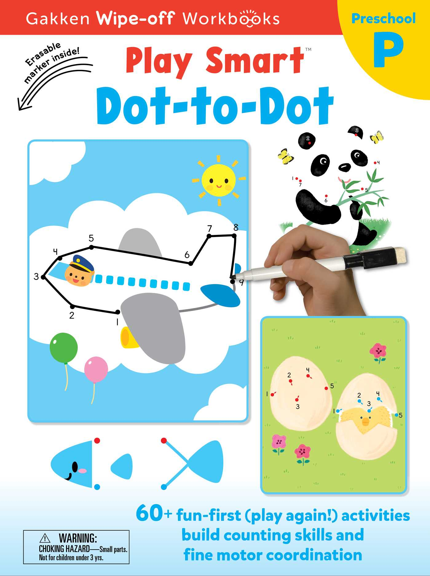 Play Smart Dot-to-Dot | Book by Gakken early childhood experts ...