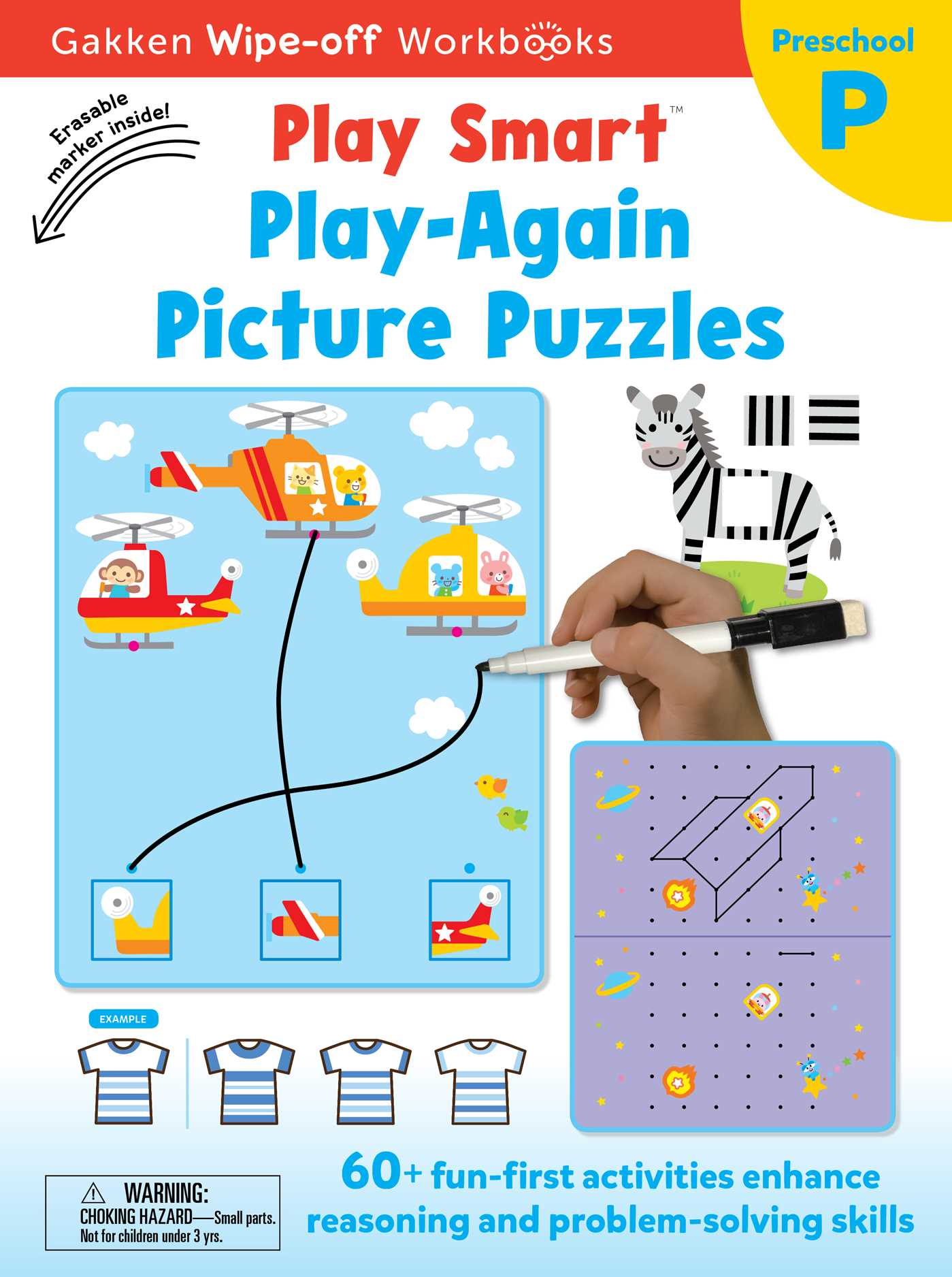 Play Smart Play Again Picture Puzzles | Book by Gakken early ...