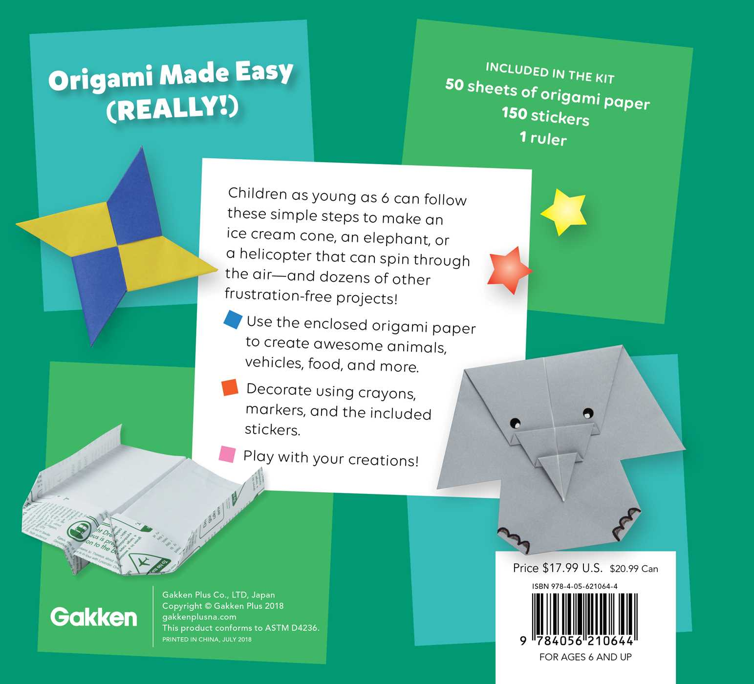 Origami Box Out Of A4 Paper Simple Images Cute Mouse Diagram Super 9784056210644 Hr Back