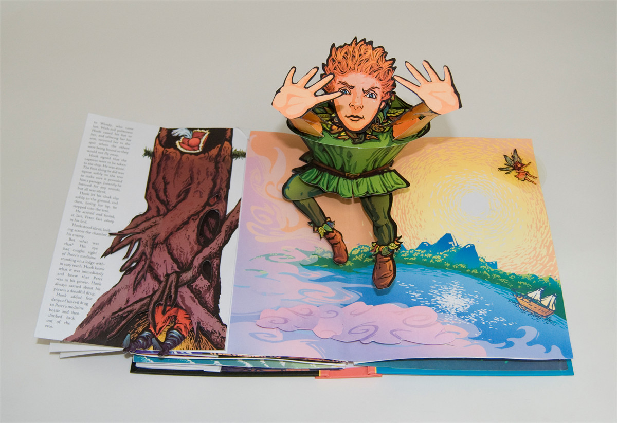 Peter Pan | Book by Robert Sabuda | Official Publisher Page