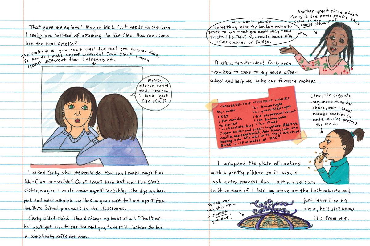 Amelias 6th grade notebook 9780689870408.in03