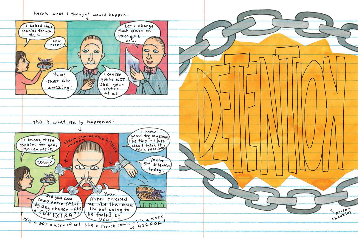 Amelias 6th grade notebook 9780689870408.in04