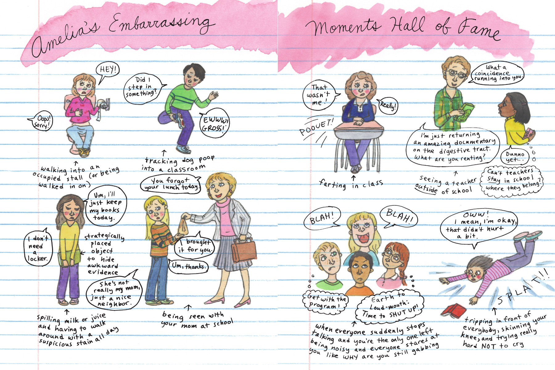 most embarrassing moments school