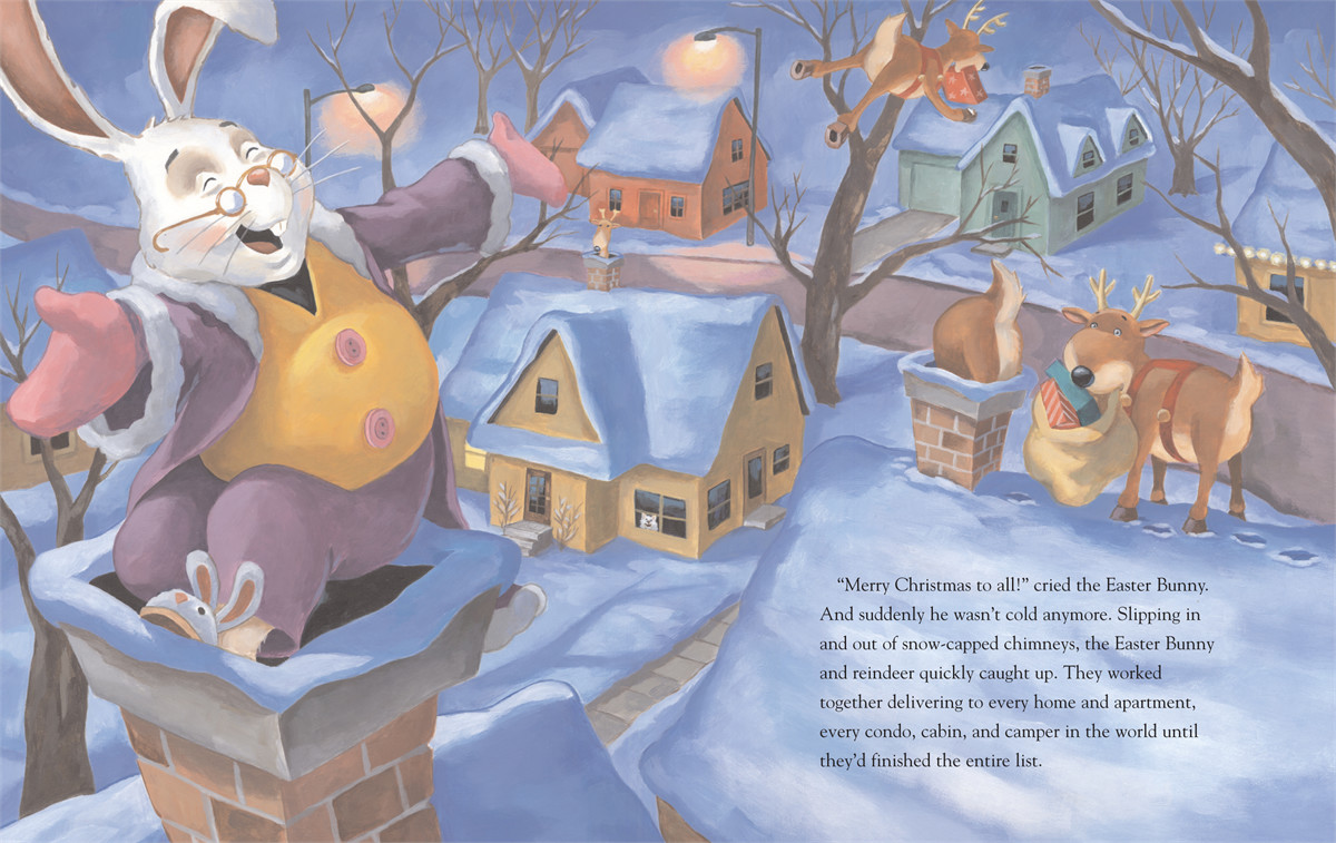 How the easter bunny saved christmas 9780689876349.in01