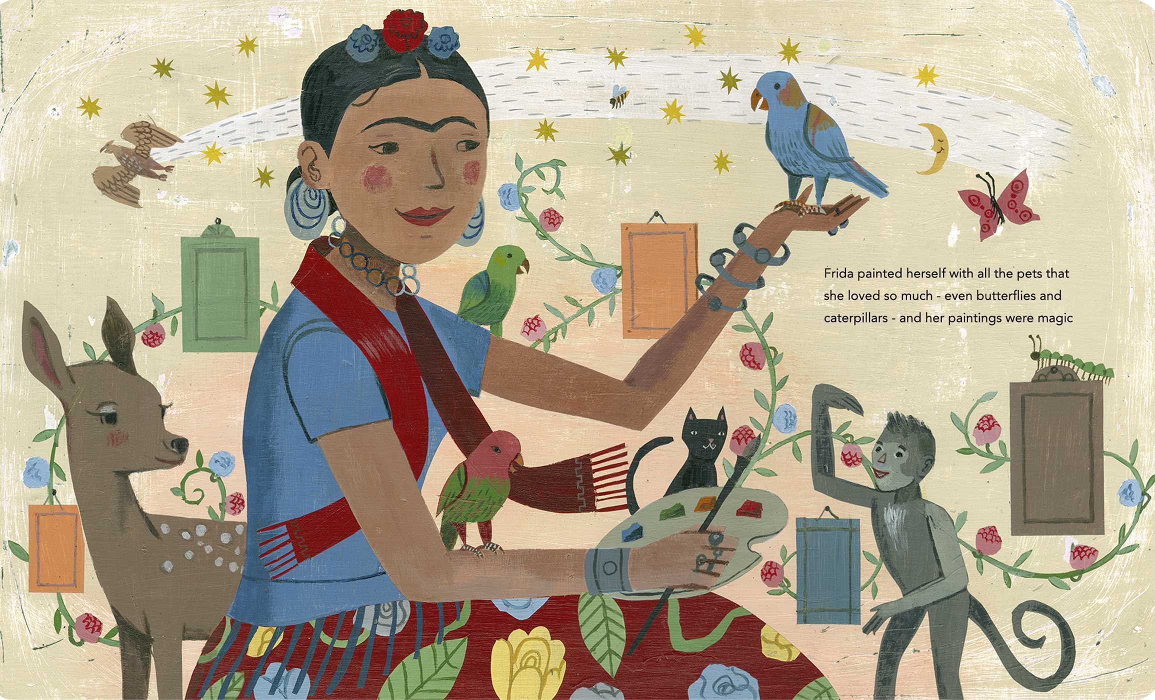 Frida kahlo and her animalitos 9780735842694.in03