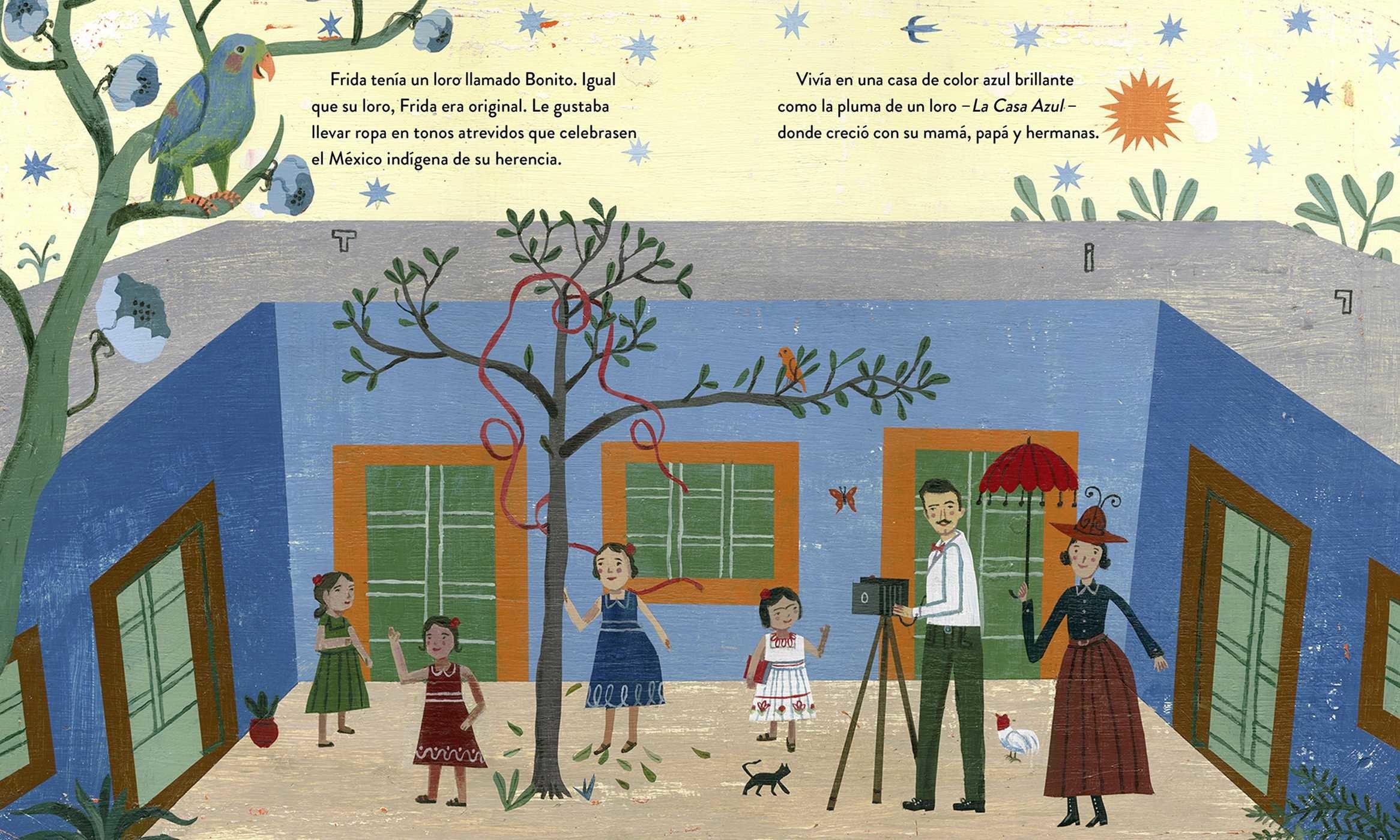 Frida kahlo y sus animalitos 9780735842922.in01