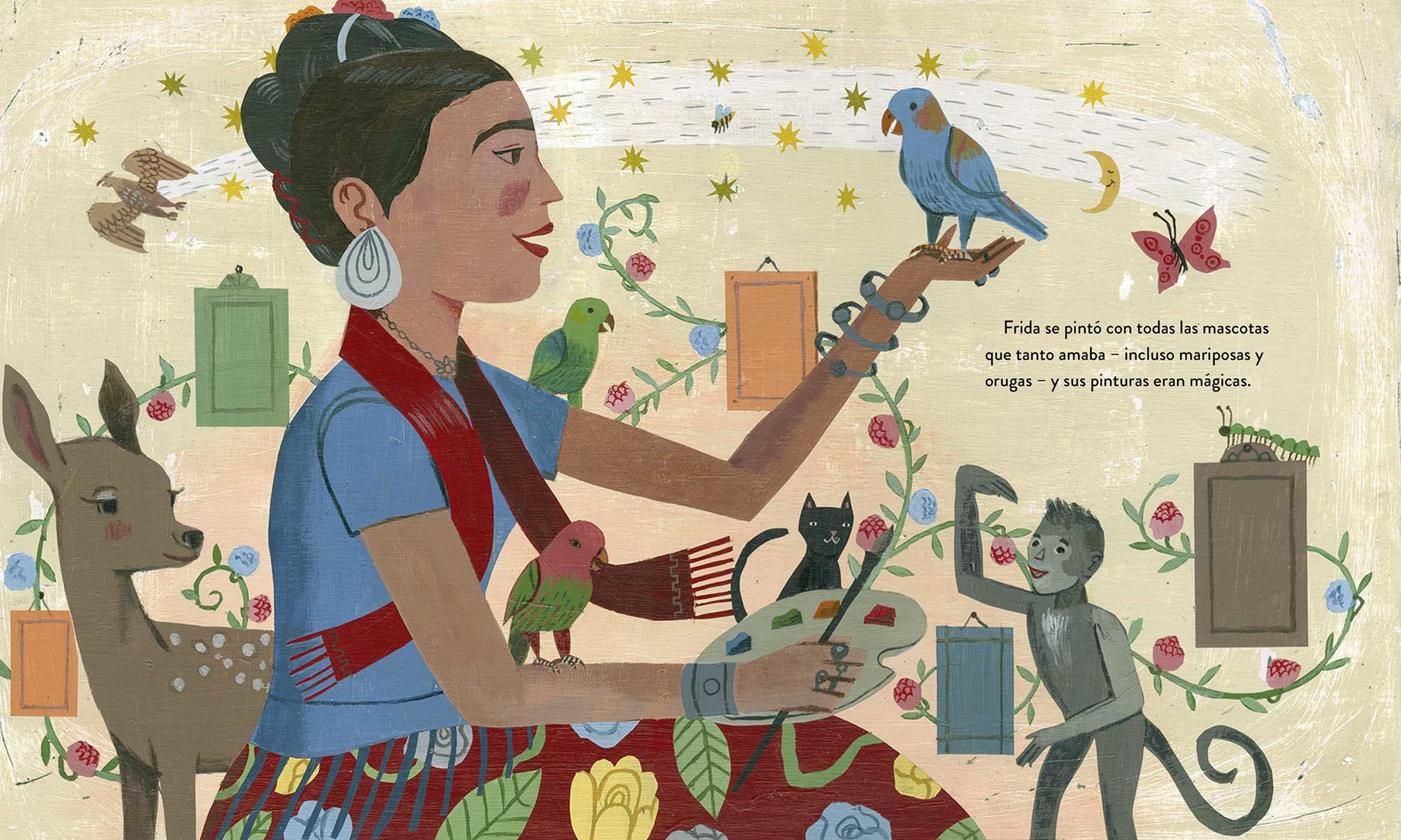 Frida kahlo y sus animalitos 9780735842922.in03