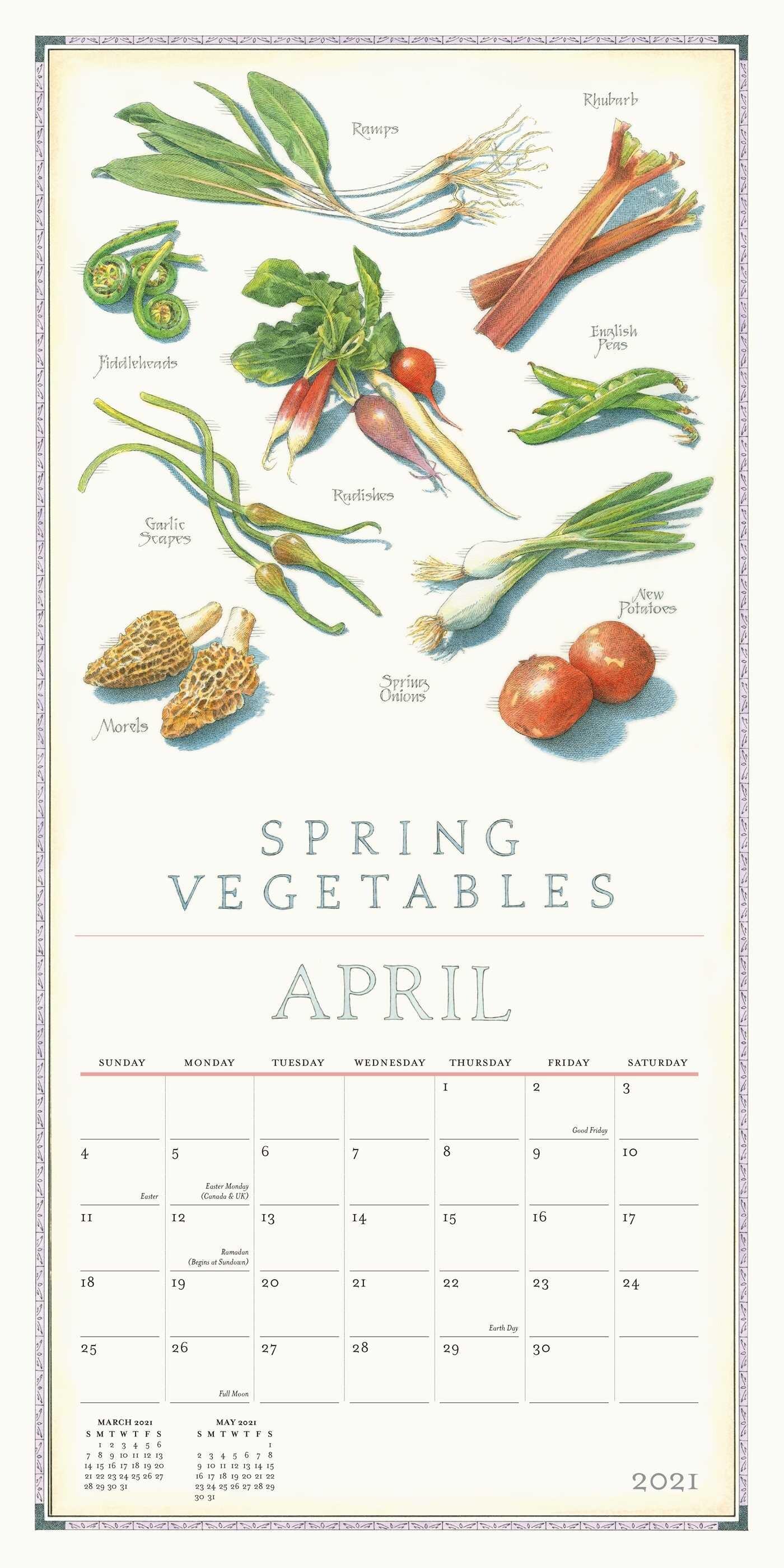 Farmer's Market 2021 Wall Calendar - Book Summary & Video ...