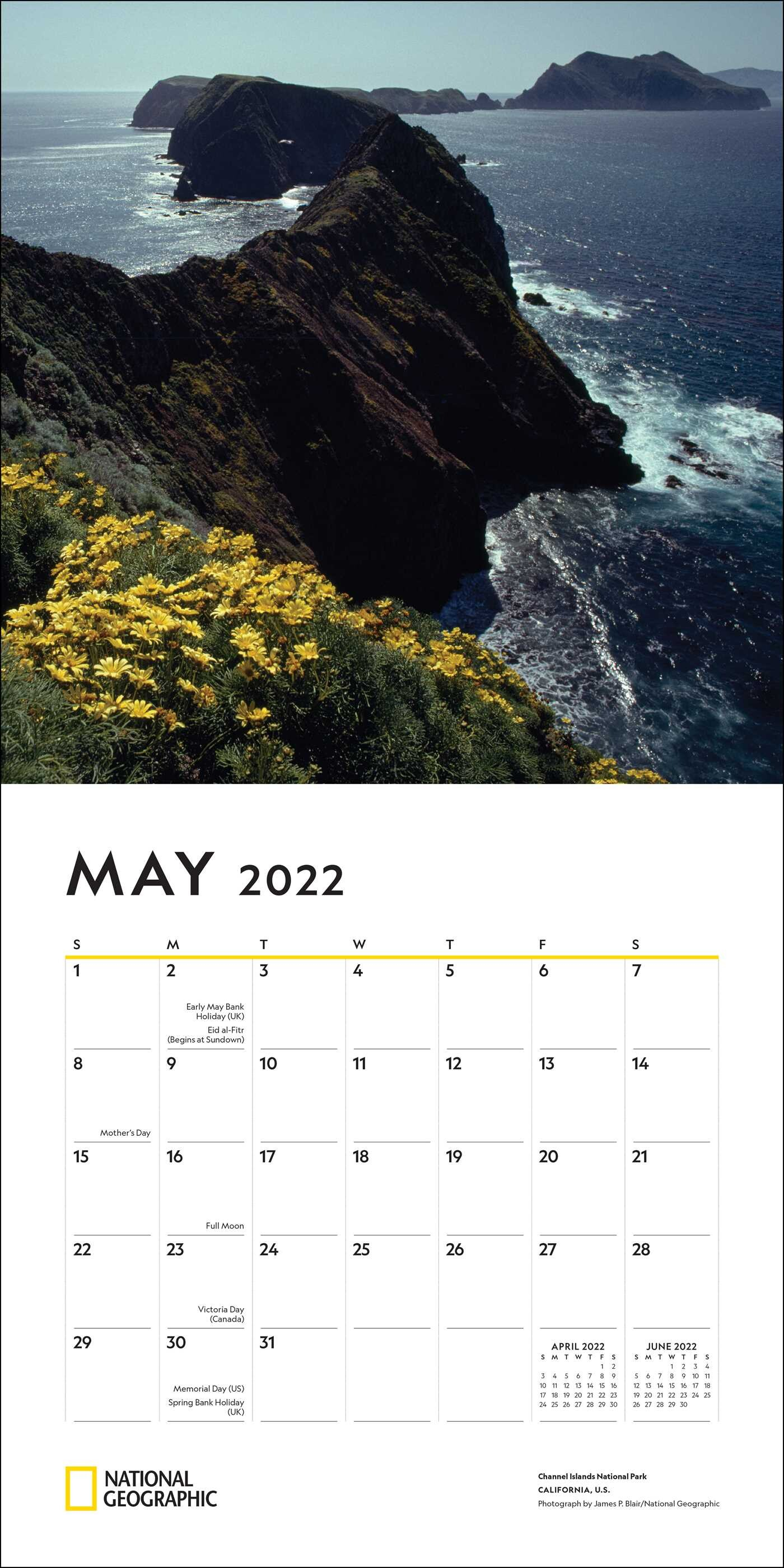 National Parks Calendar 2022.National Geographic National Parks 2022 Wall Calendar Book Summary Video Official Publisher Page Simon Schuster
