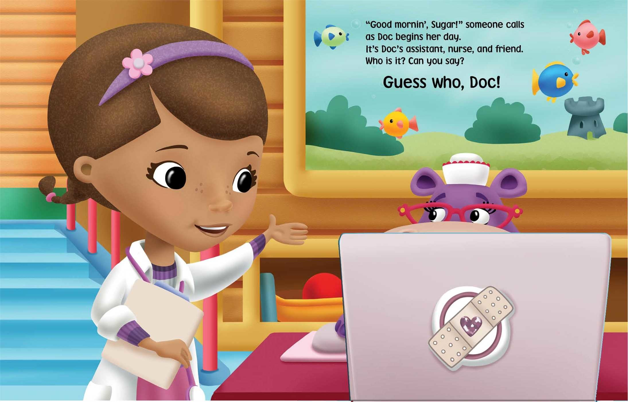 Disney doc mcstuffins guess who doc 9780794430054.in02
