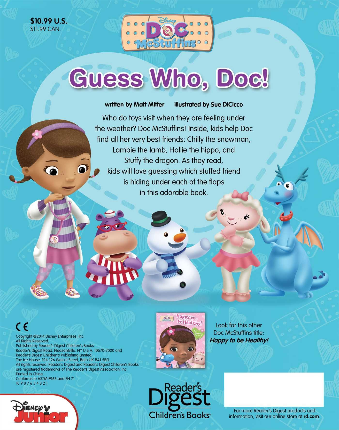 Disney doc mcstuffins guess who doc 9780794430054.in05