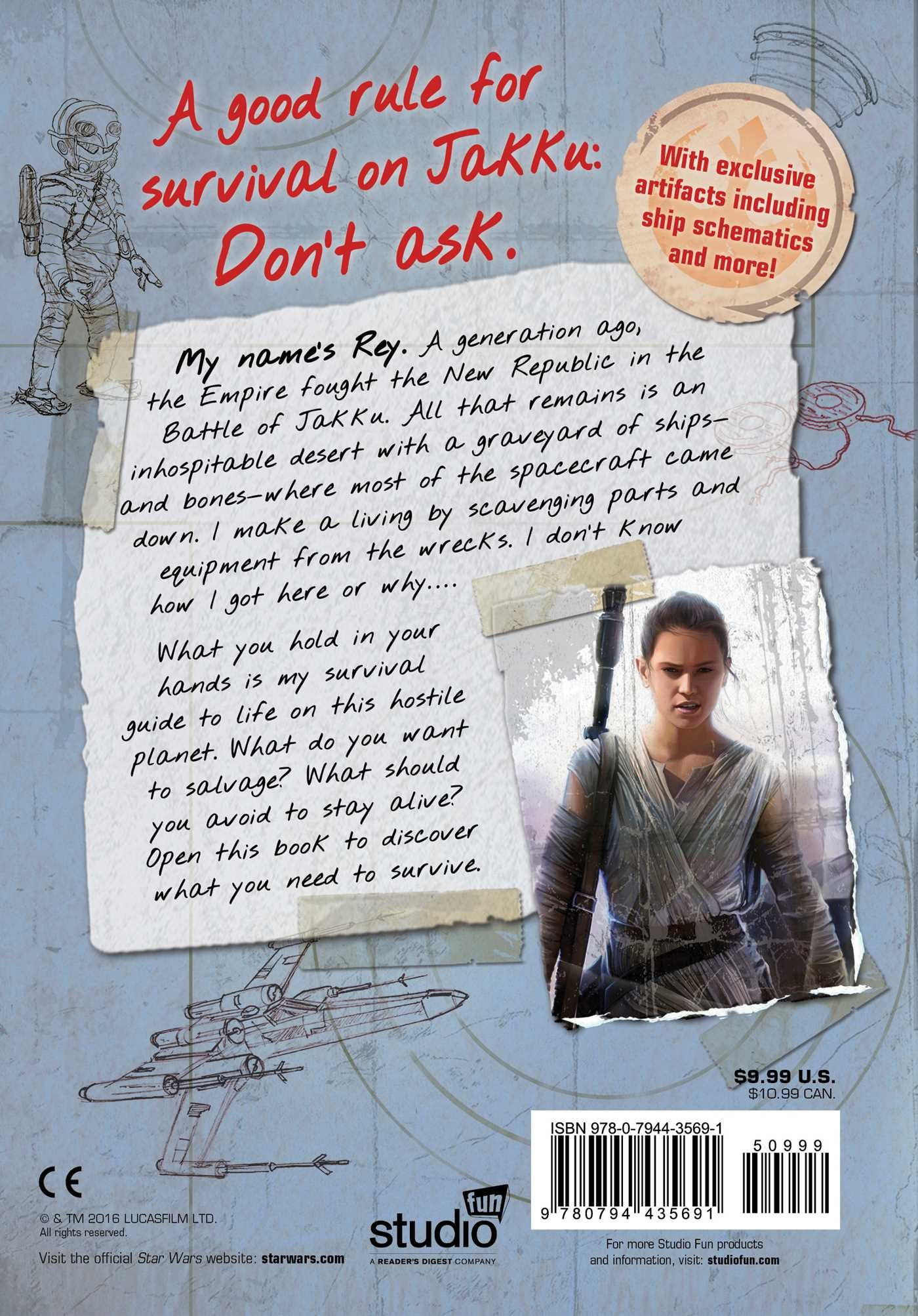 Star wars the force awakens reys survival guide 9780794435691.in05