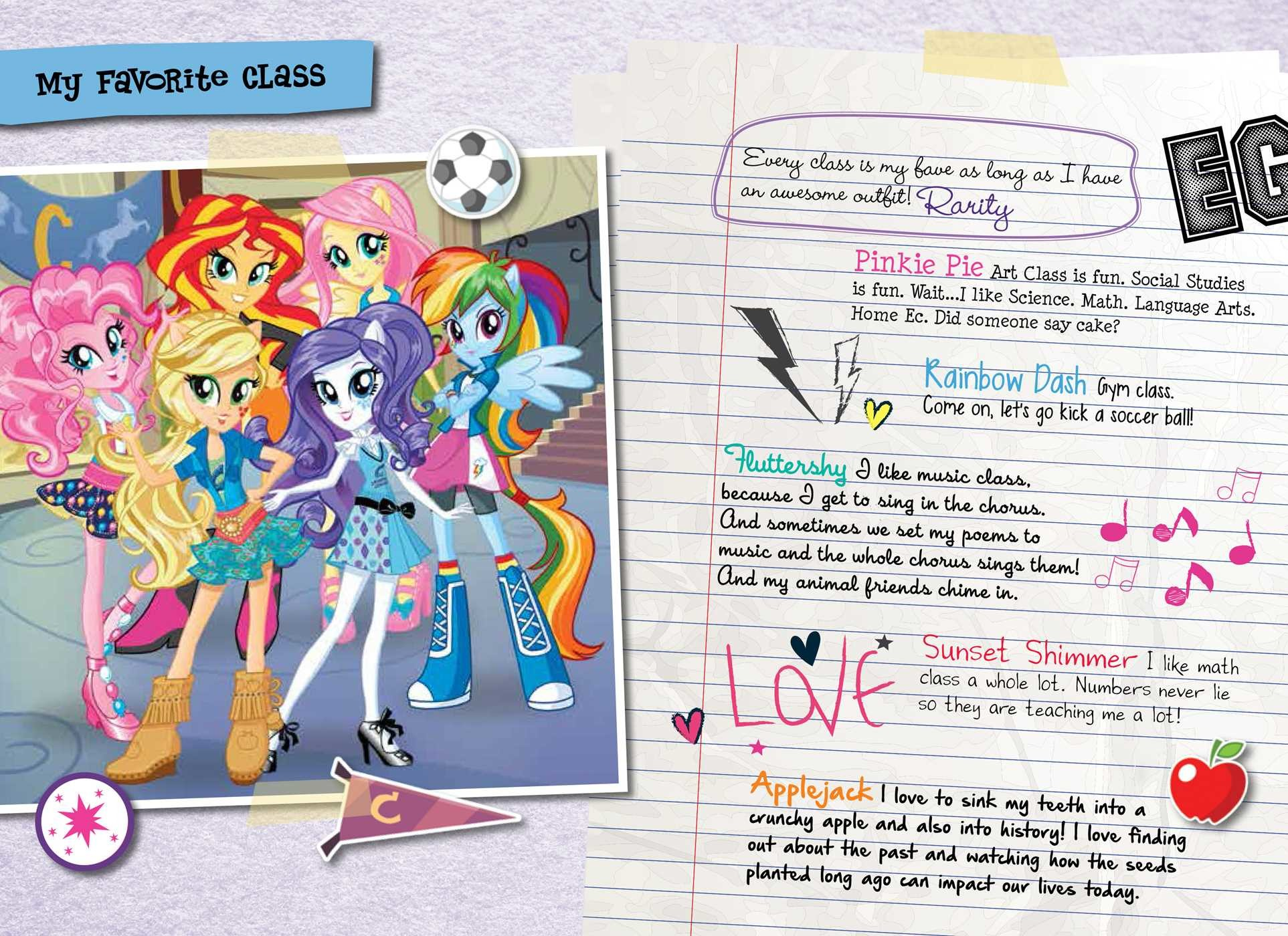 My Little Pony Equestria Girls Canterlot High Tell All