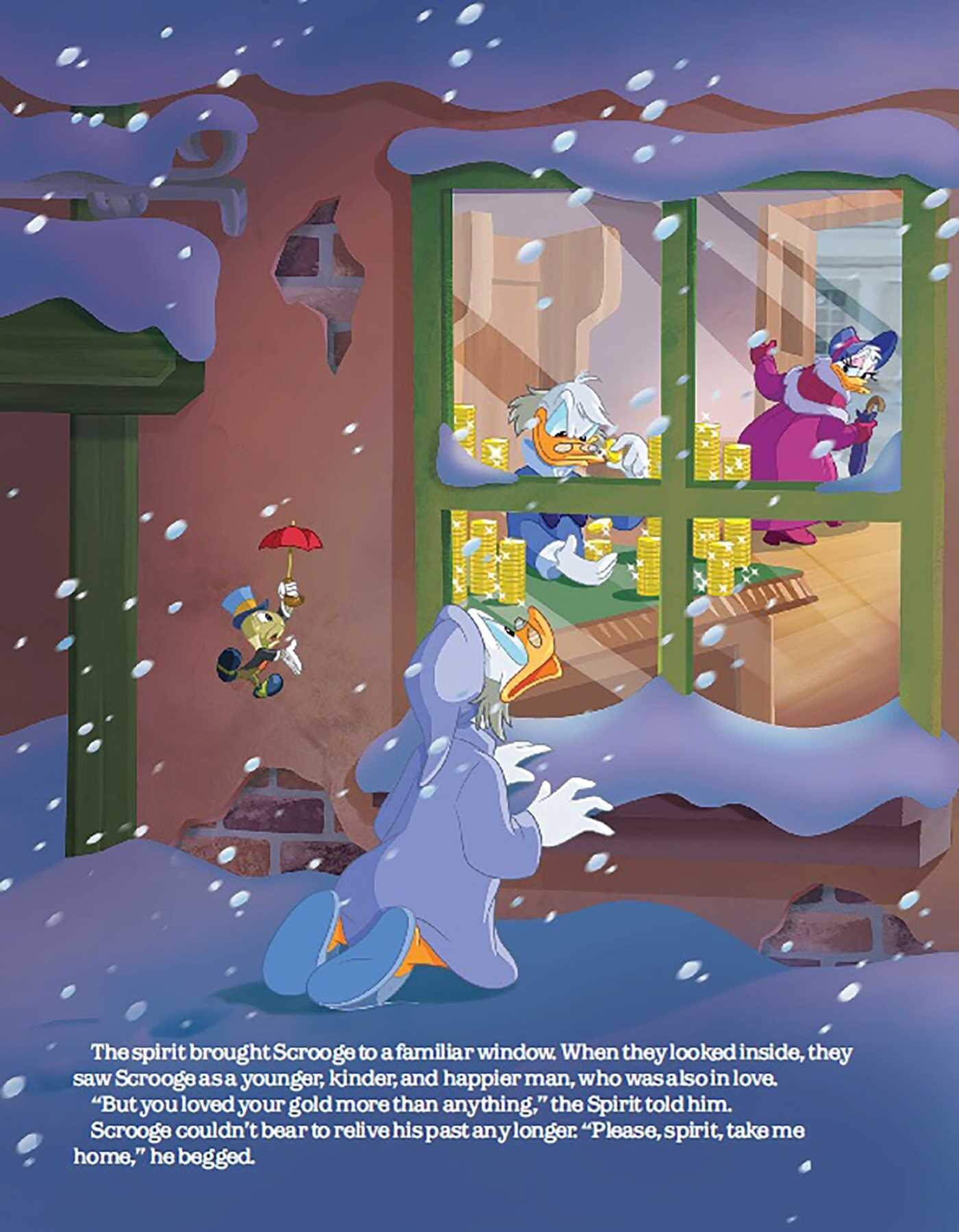 Mickeys Christmas Carol Book.Disney Mickey S Christmas Carol Book By Megan Roth John