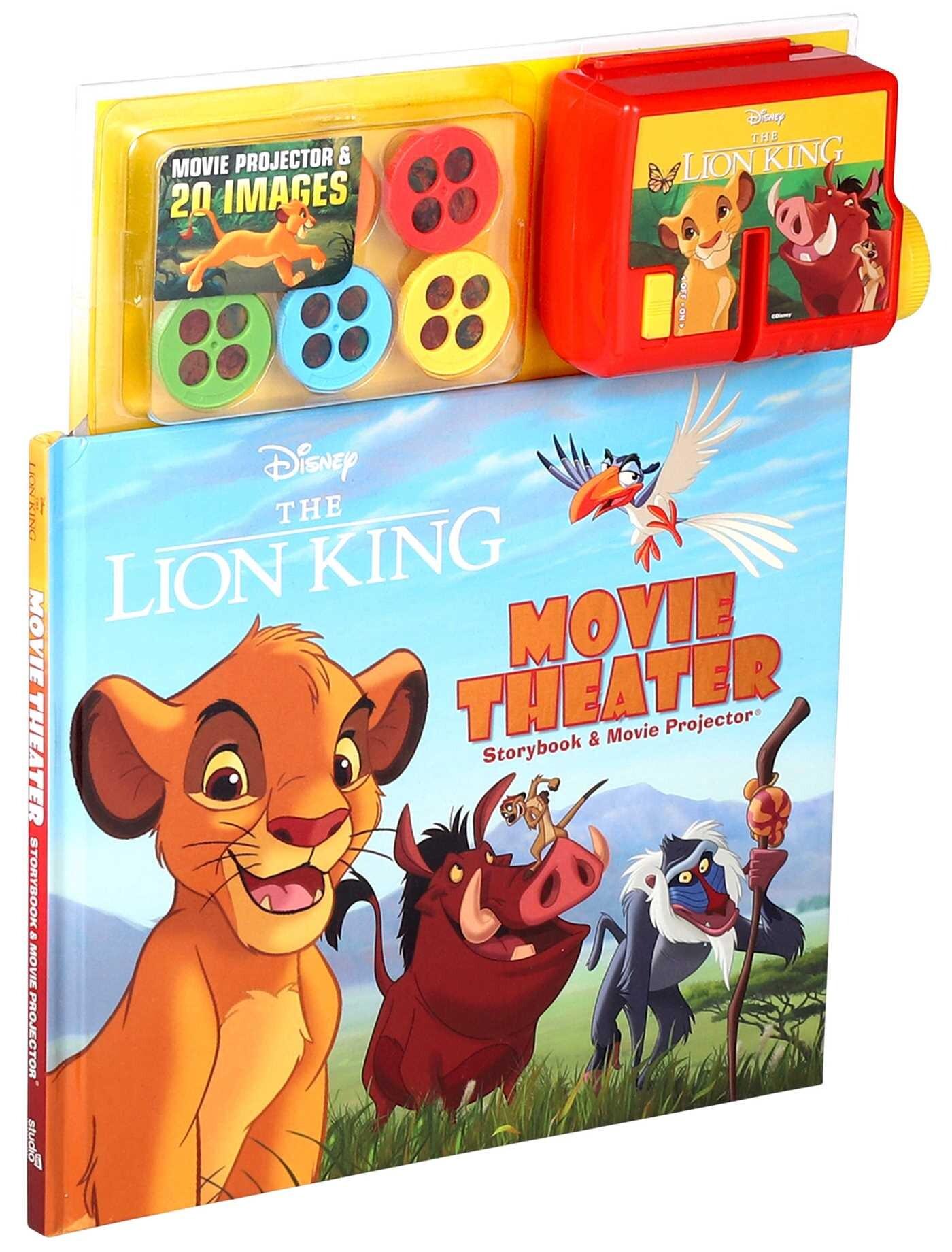 Disney The Lion King Movie Theater Storybook Amp Movie
