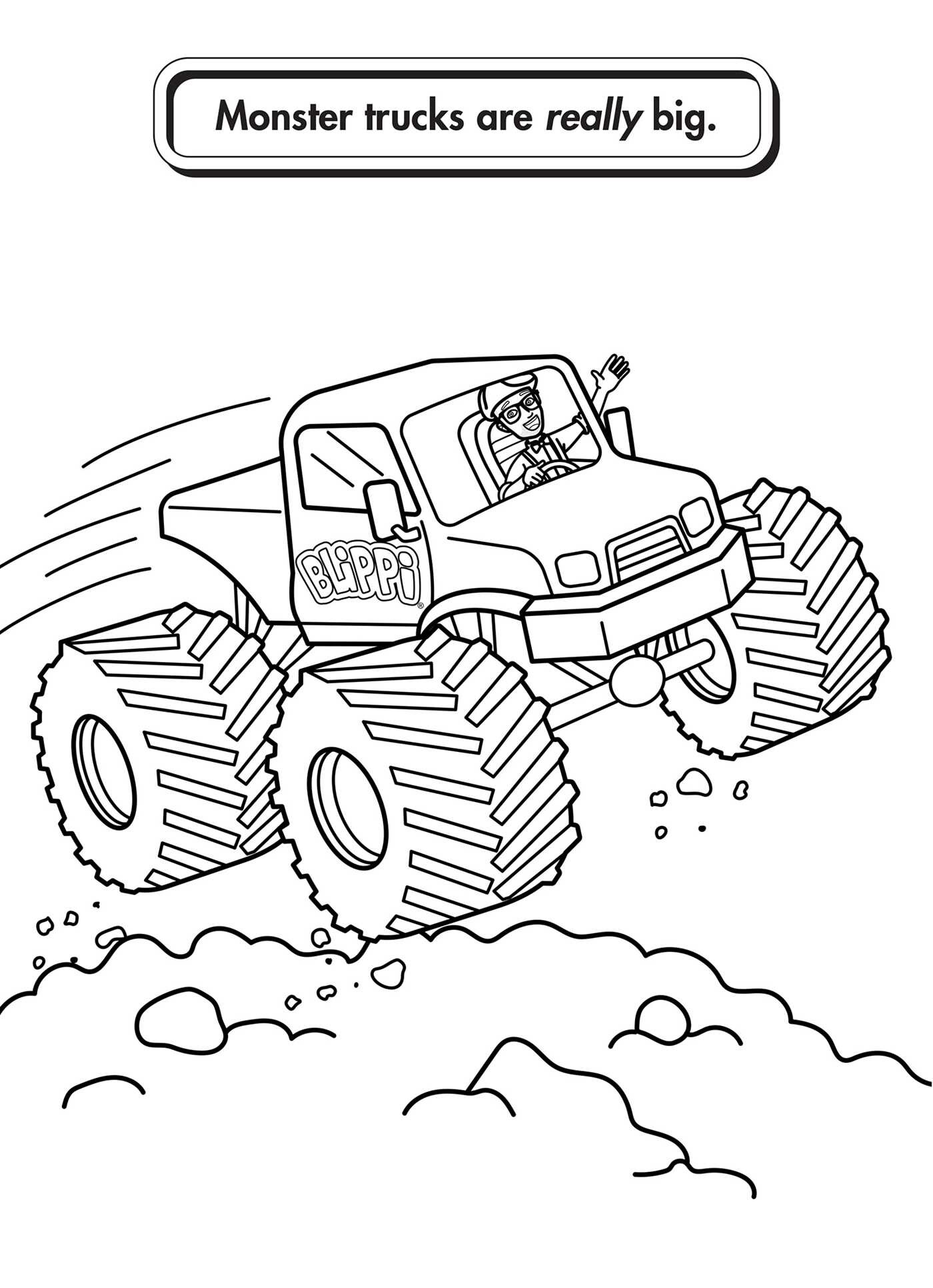 Blippi Coloring Pages Sketch Page Sketch Coloring Page
