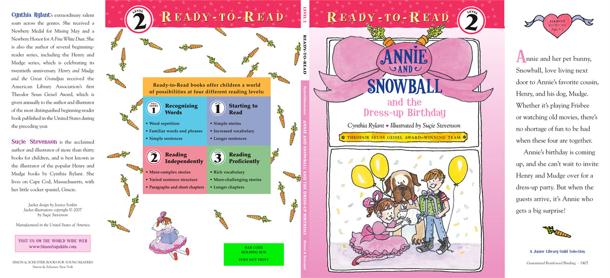 Annie and snowball and the dress up birthday 9781416909385.in03