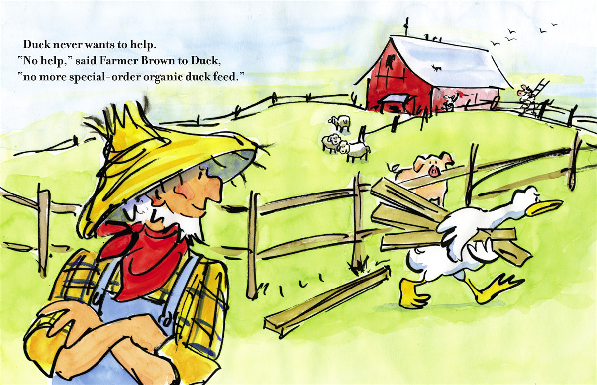 thump  quack  moo book by doreen cronin  betsy lewin chicken clipart black and white chickens clip art free