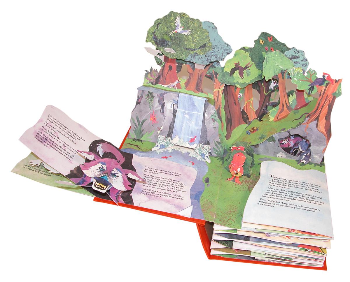 The Jungle Book  Book By Matthew Reinhart  Official -2445