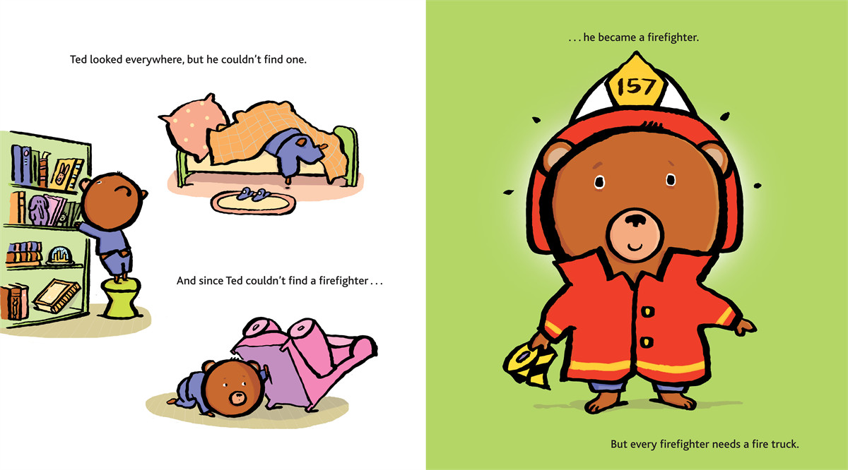 Firefighter ted 9781416928218.in01