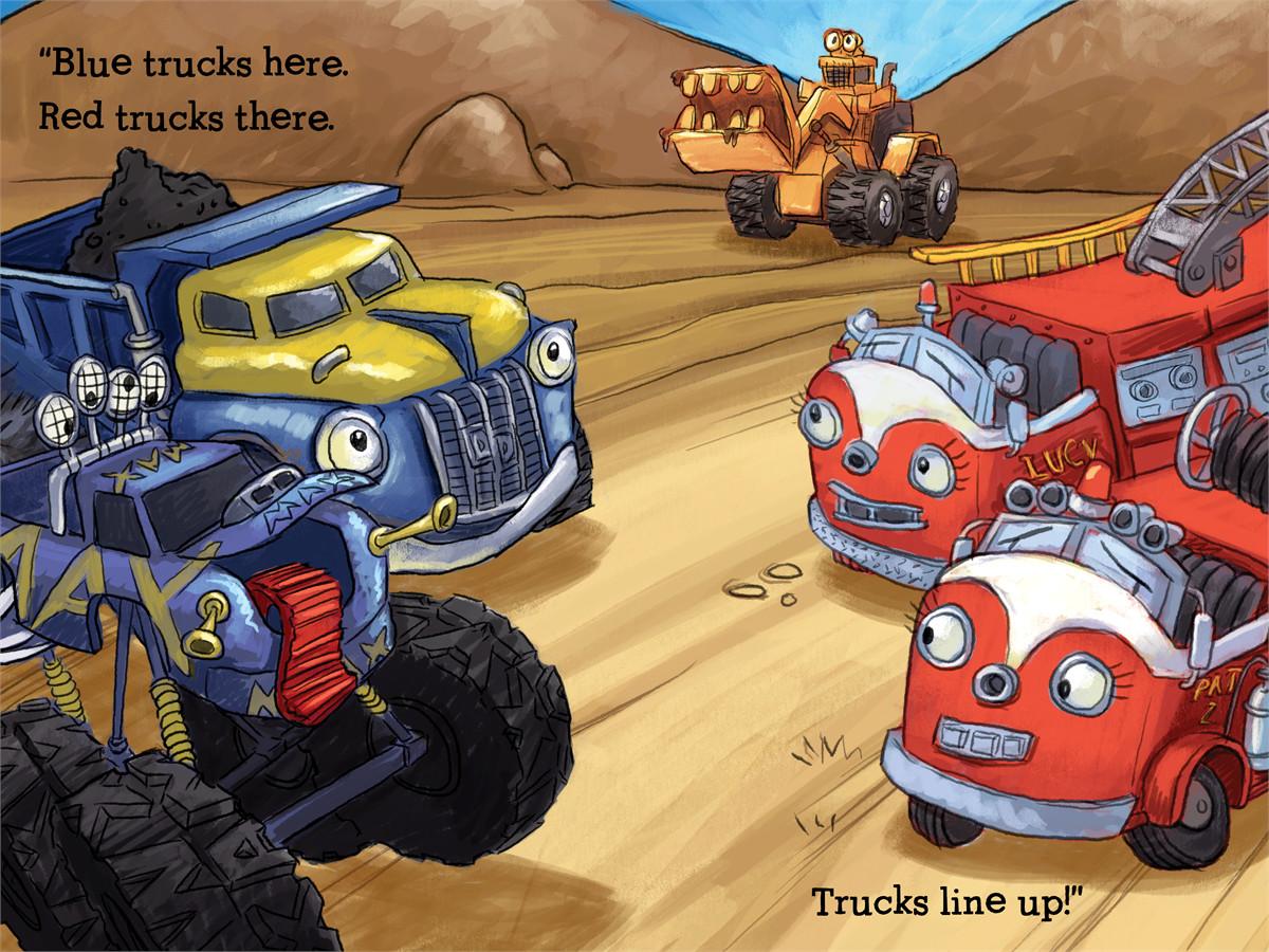 Trucks line up 9781416941477.in02