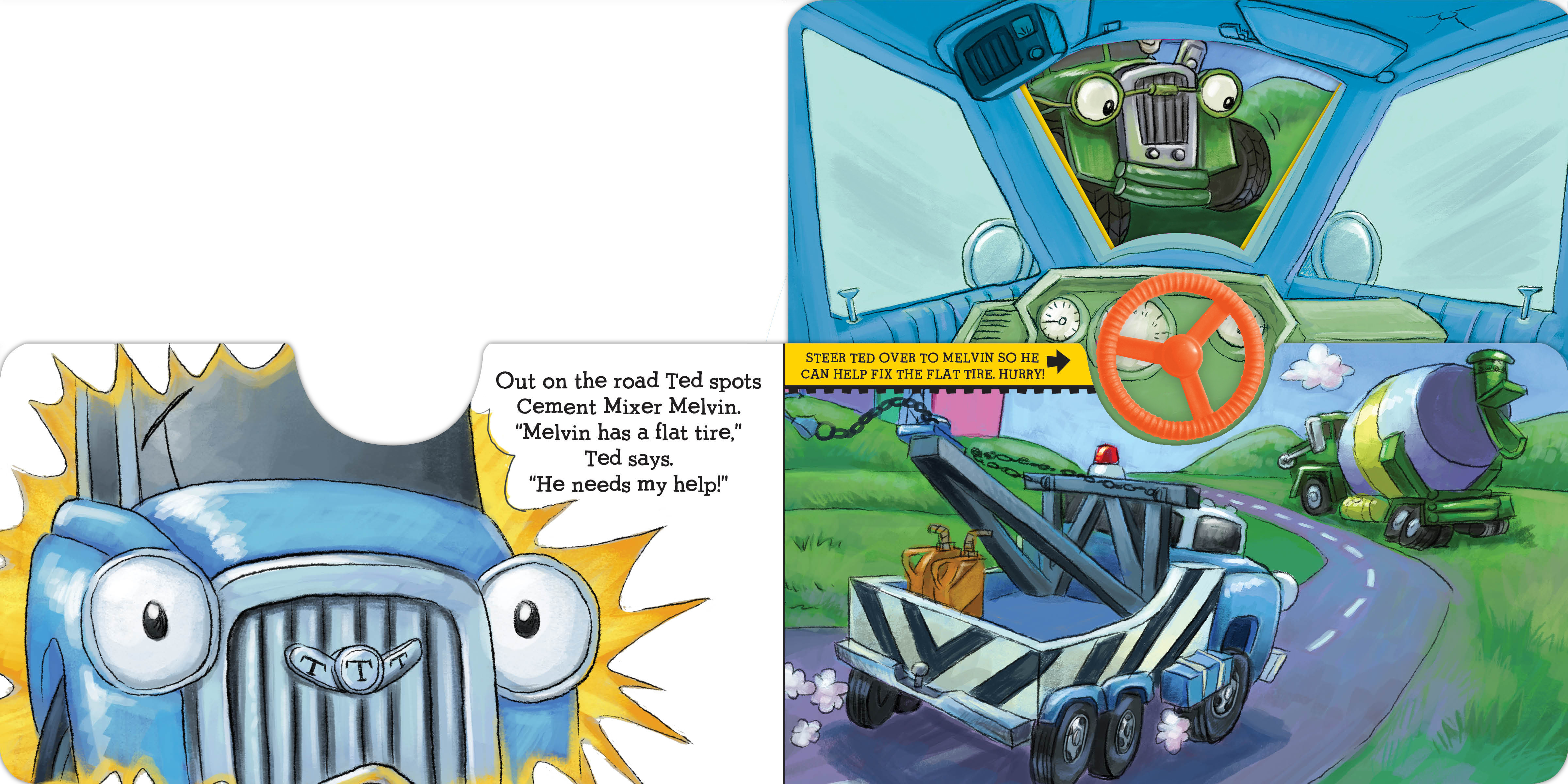 Steer the wheel! 9781416941859.in02