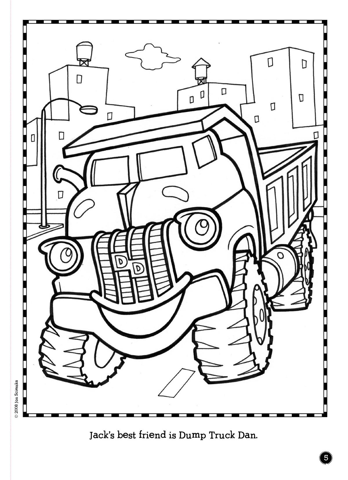 All Around Trucktown Book By Benjamin Harper David