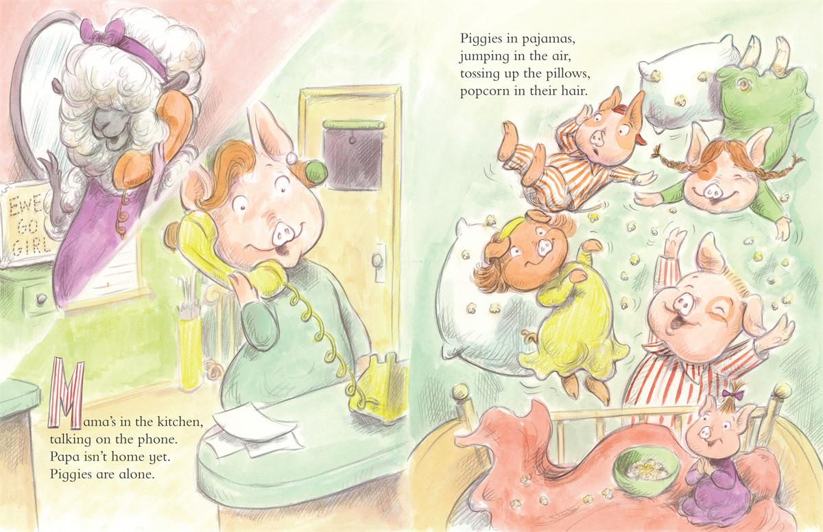 Piggies in pajamas 9781416949824.in01