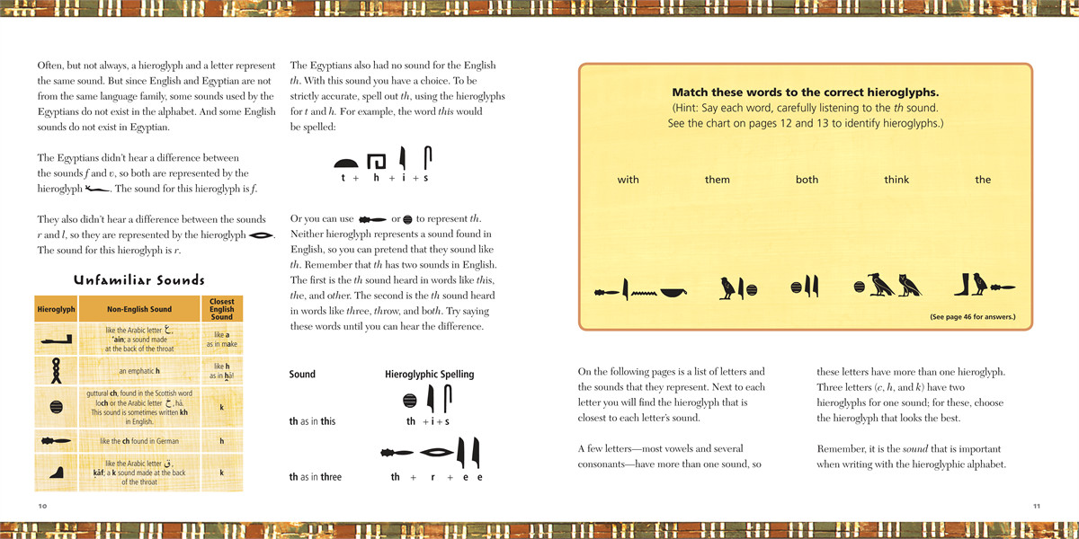 Fun with hieroglyphs 9781416961147.in03
