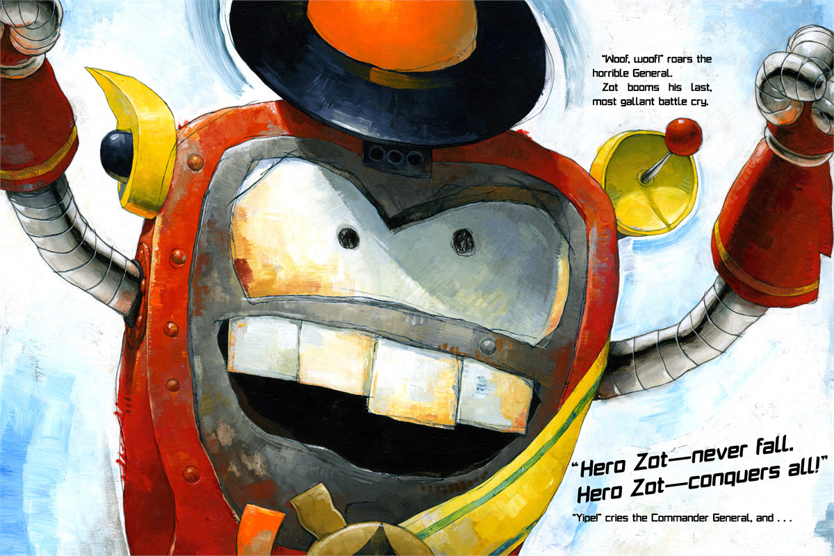 Robot zot! 9781416963943.in01