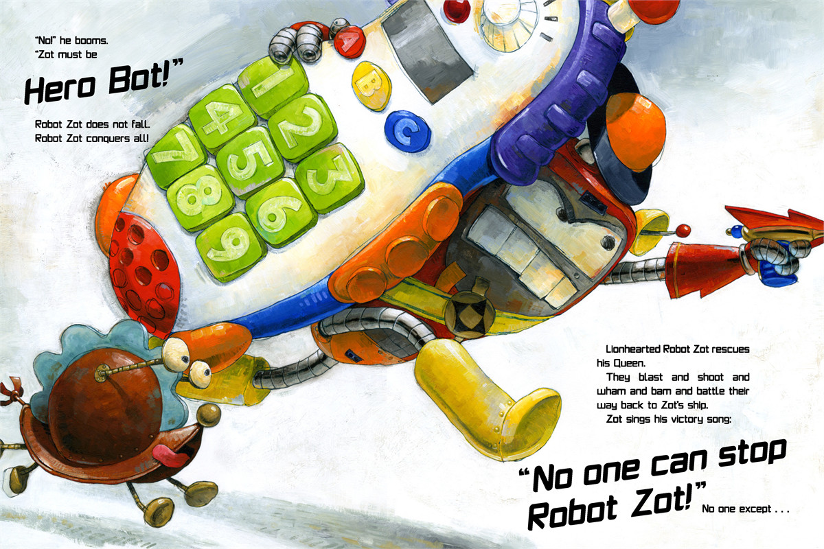 Robot zot! 9781416963943.in02