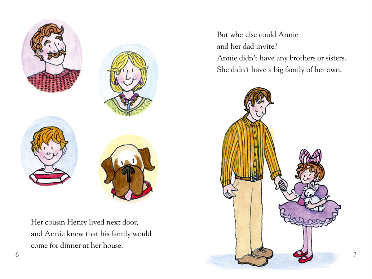 Annie and snowball and the thankful friends 9781416972020.in02