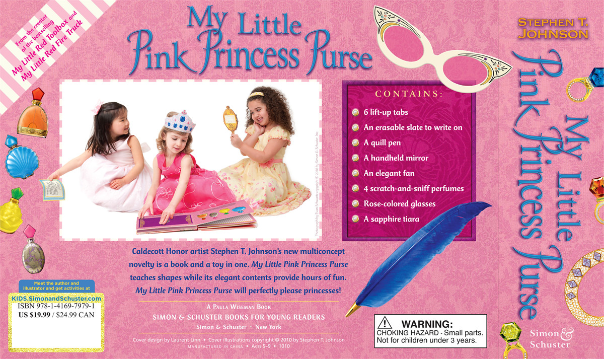 My little pink princess purse 9781416979791.in03