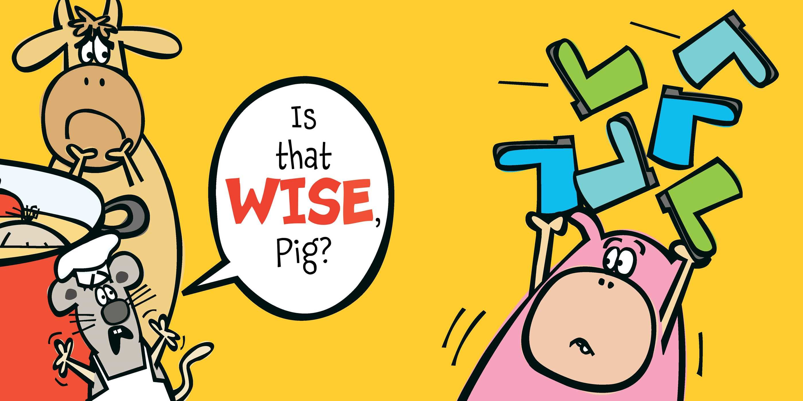 Is that wise pig 9781416985822.in03