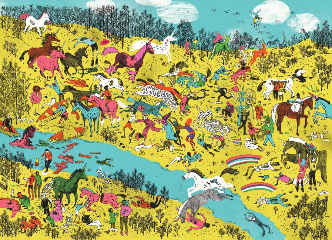 Zombies vs unicorns 9781416989530.in01