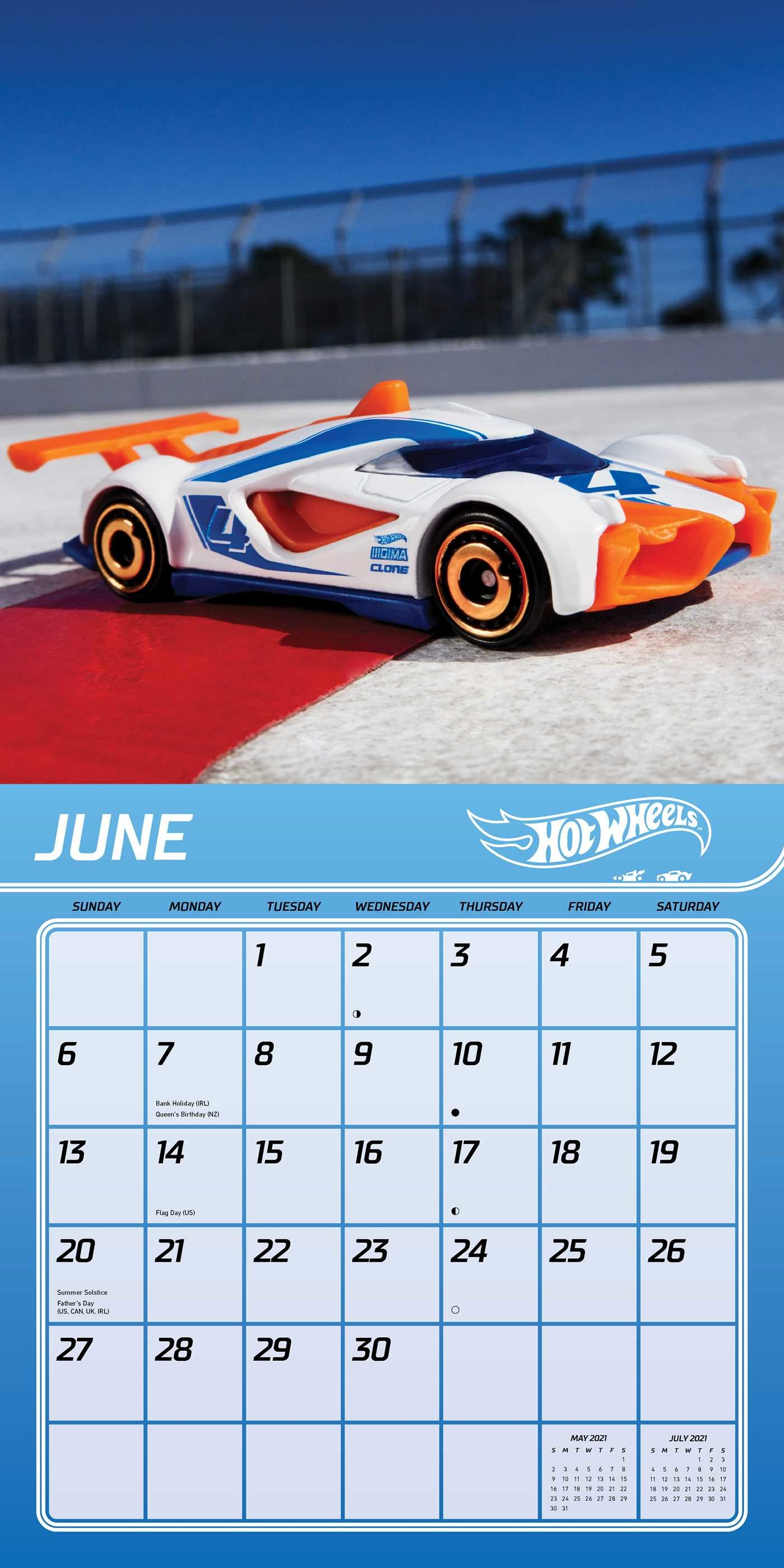 Hot Wheels 2021 Wall Calendar Book Summary Amp Video