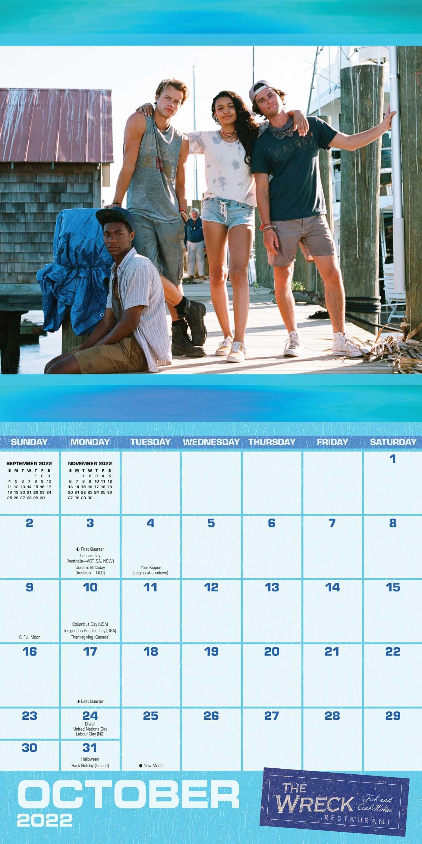Calendrier Tan 2022 Outer Banks 16 Month September 2021 December 2022 Wall Calendar