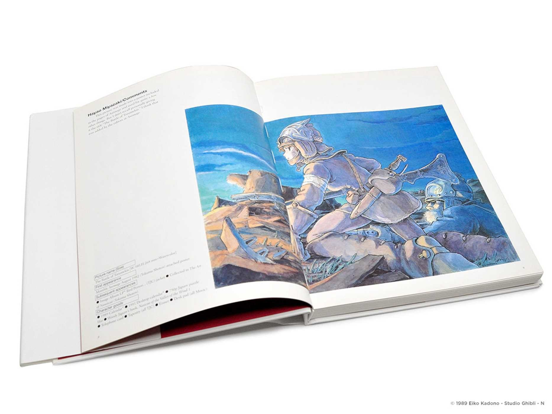Nausicaa Of The Valley Of The Wind Map.Nausicaa Of The Valley Of The Wind Watercolor Impressions Book By