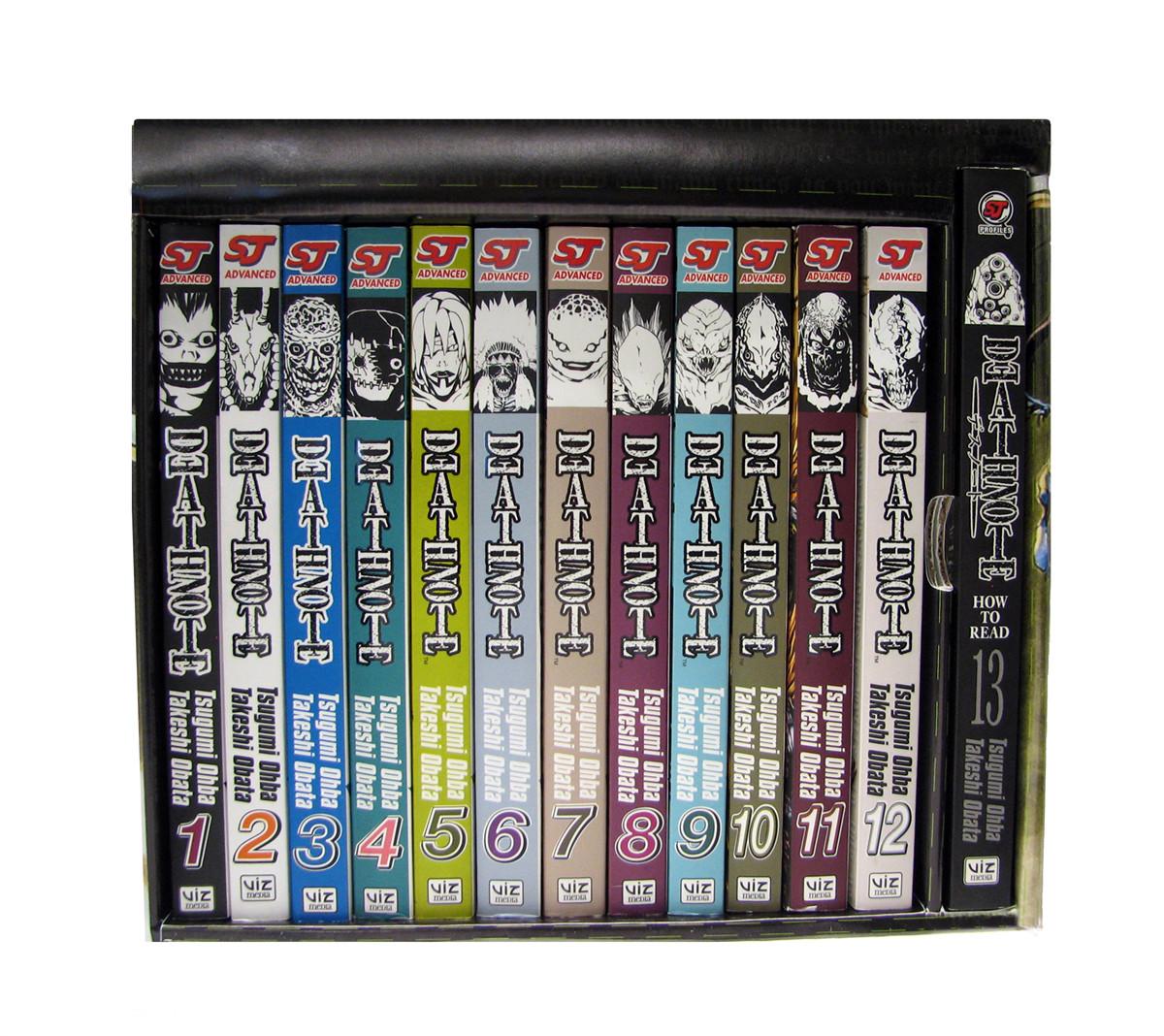 Death note box set (vol s 1 13) 9781421525815.in06
