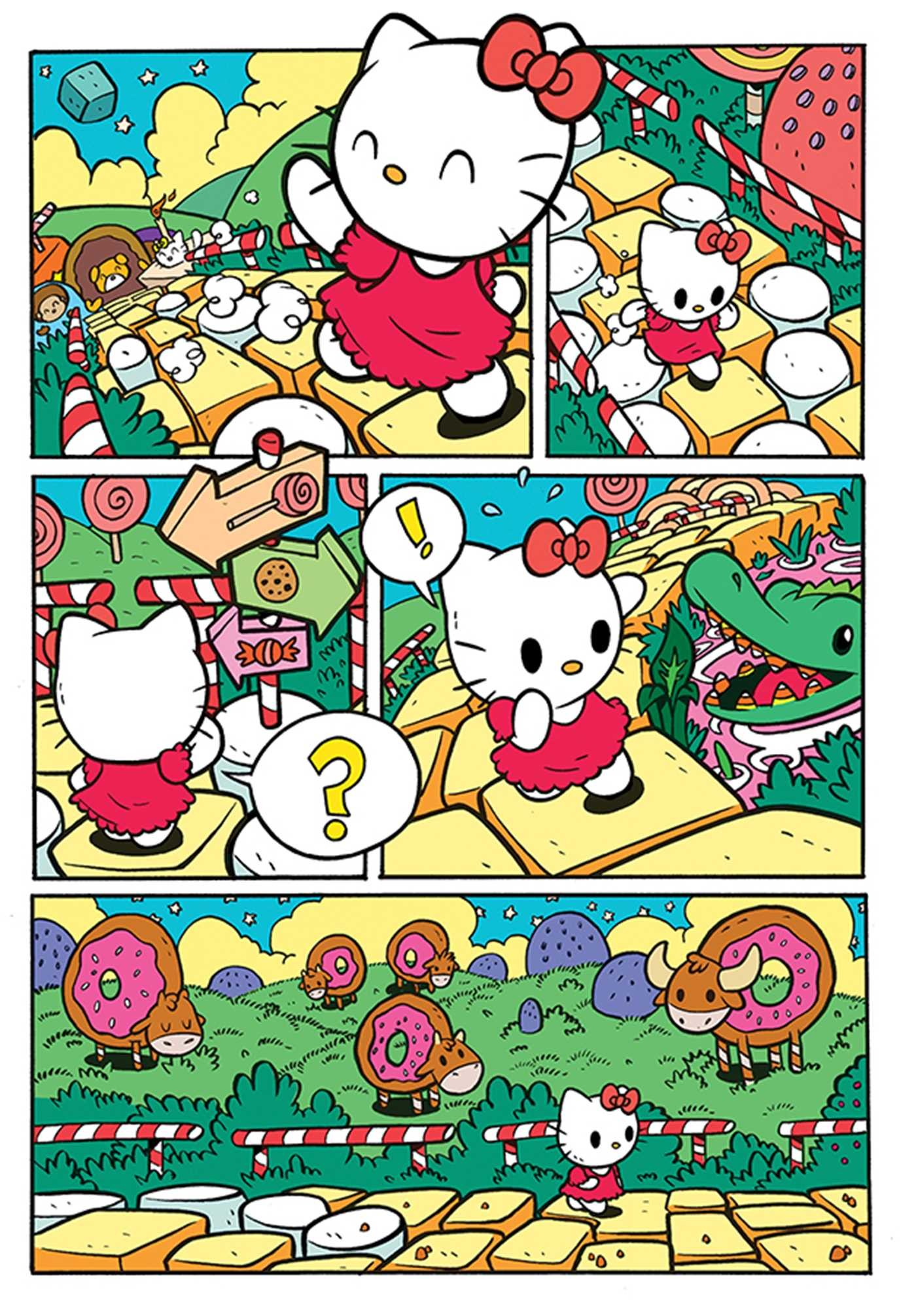 836bf55b8 Hello Kitty: Delicious! | Book by Jorge Monlongo | Official ...