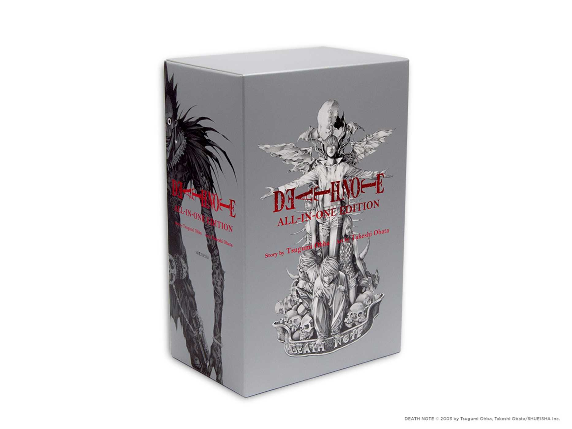 Death Note All In One Edition Book By Tsugumi Ohba