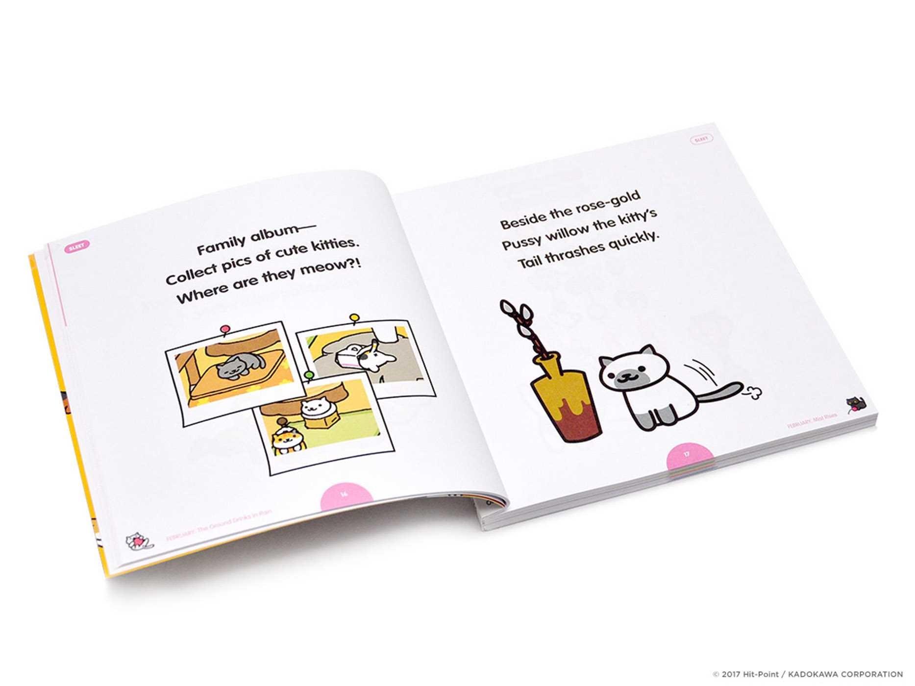 Neko atsume kitty collector haiku seasons of the kitty 9781421598024.in03