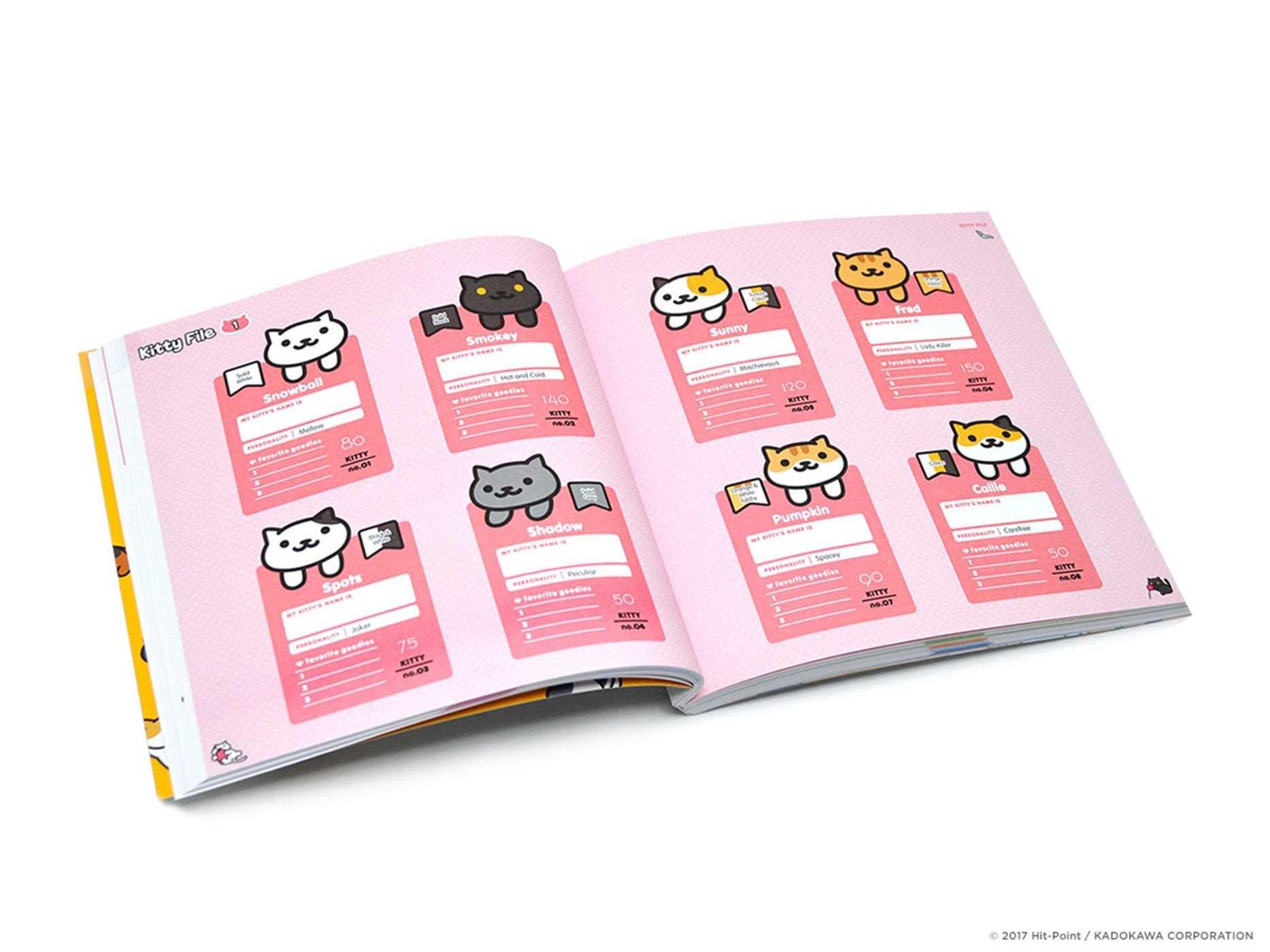Neko atsume kitty collector haiku seasons of the kitty 9781421598024.in04