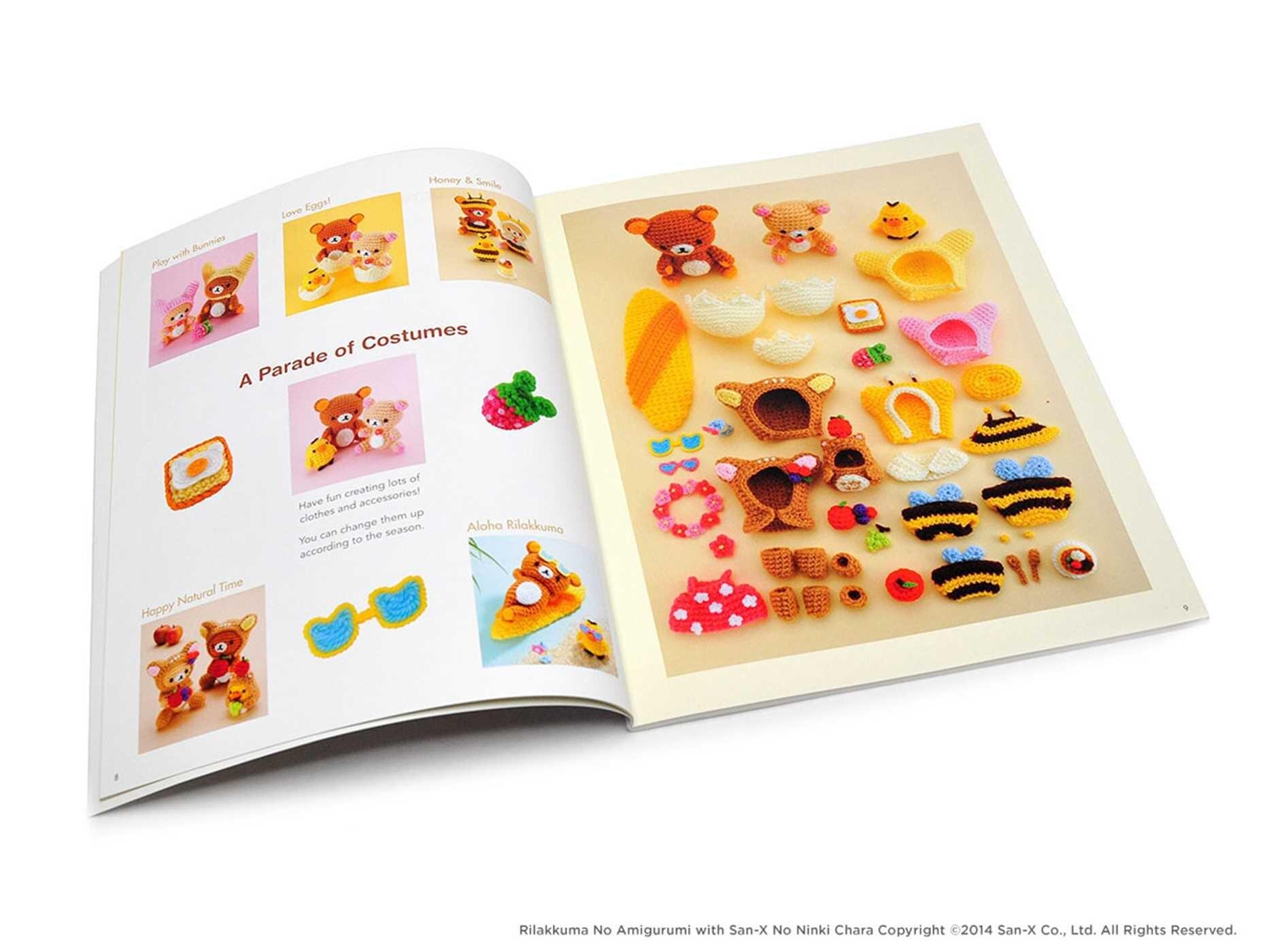 Amigurumi san x crochet patterns 9781421598734.in02