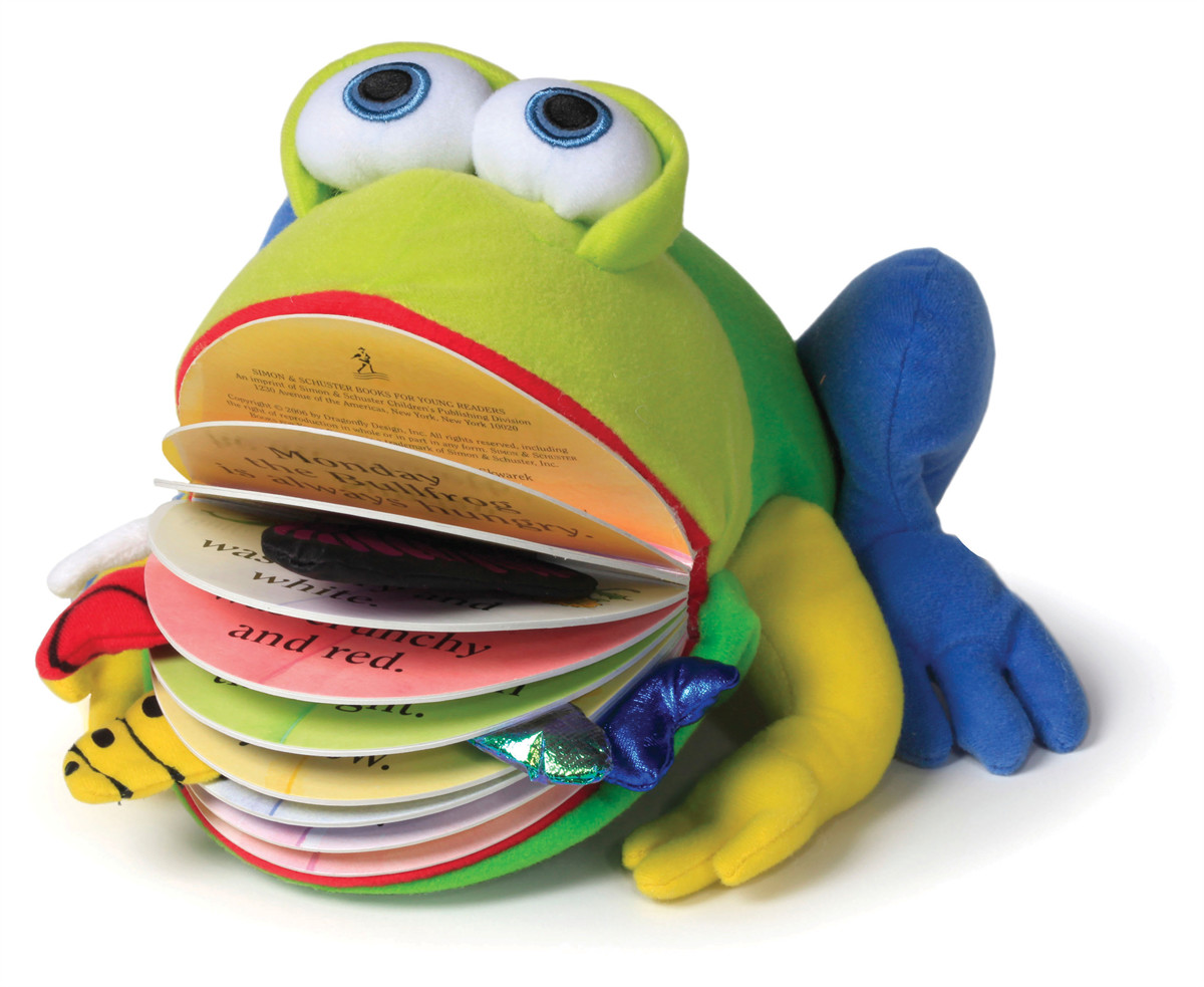 Monday the bullfrog 9781442409583.in01