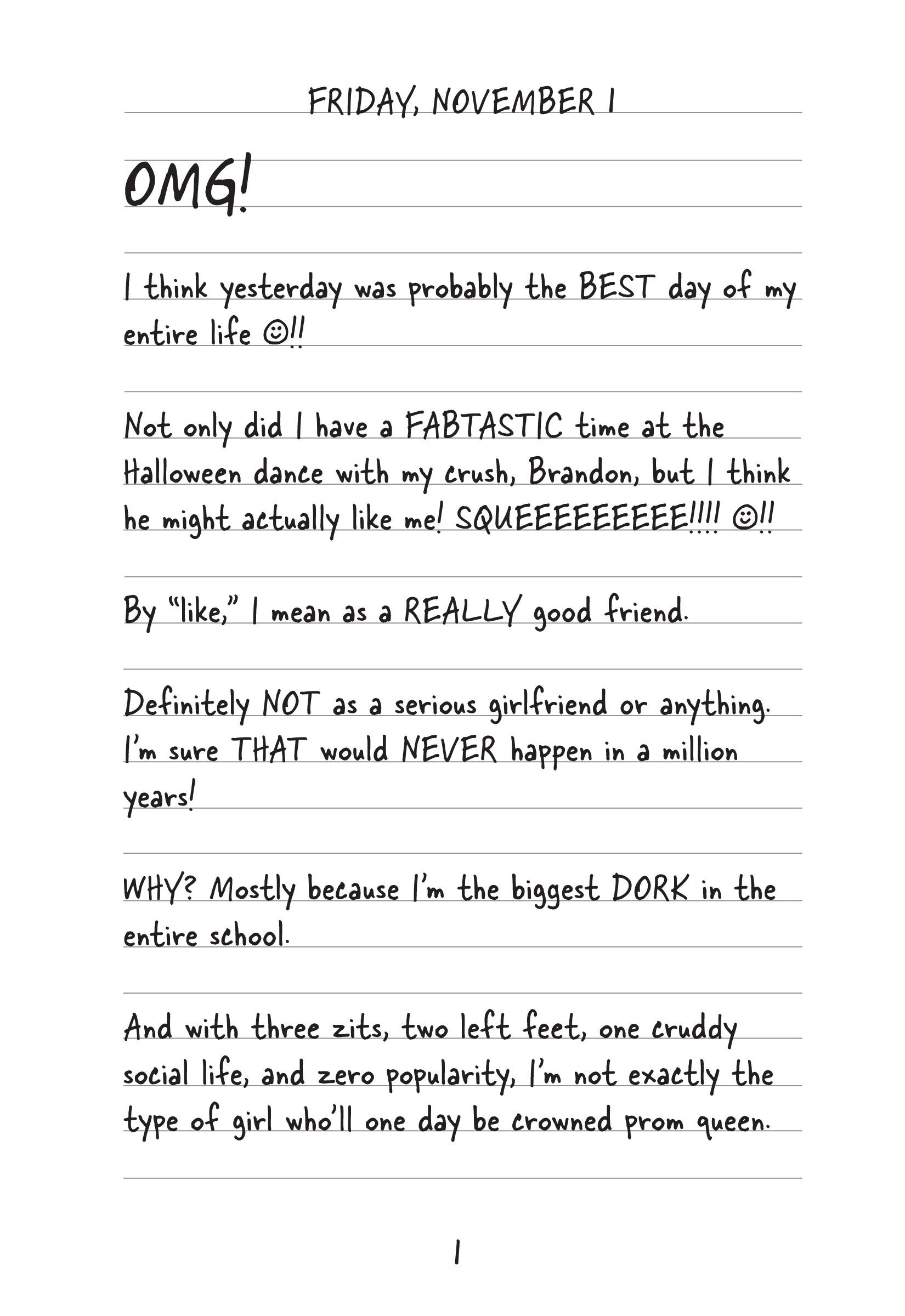 summary of the first diary of a wimpy kid book