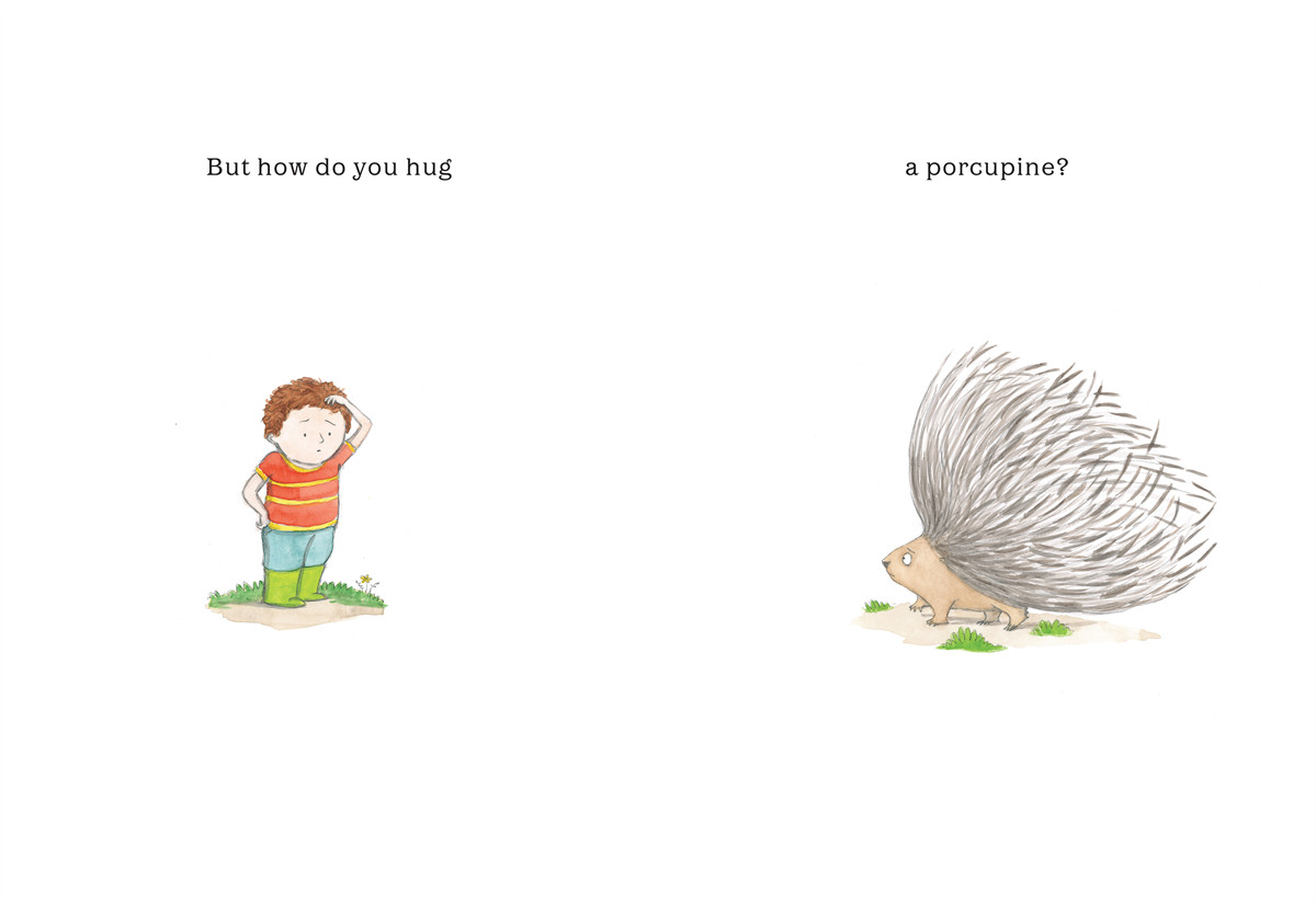 How do you hug a porcupine 9781442412910.in02