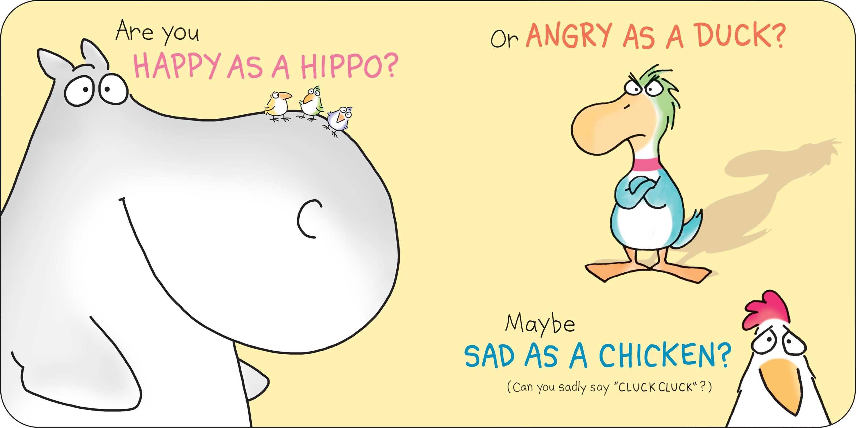 Happy Hippo Angry Duck Book by Sandra Boynton