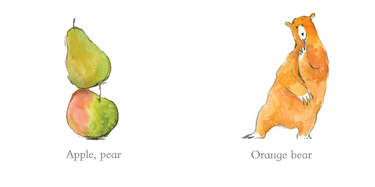 Orange pear apple bear 9781442420038.in01
