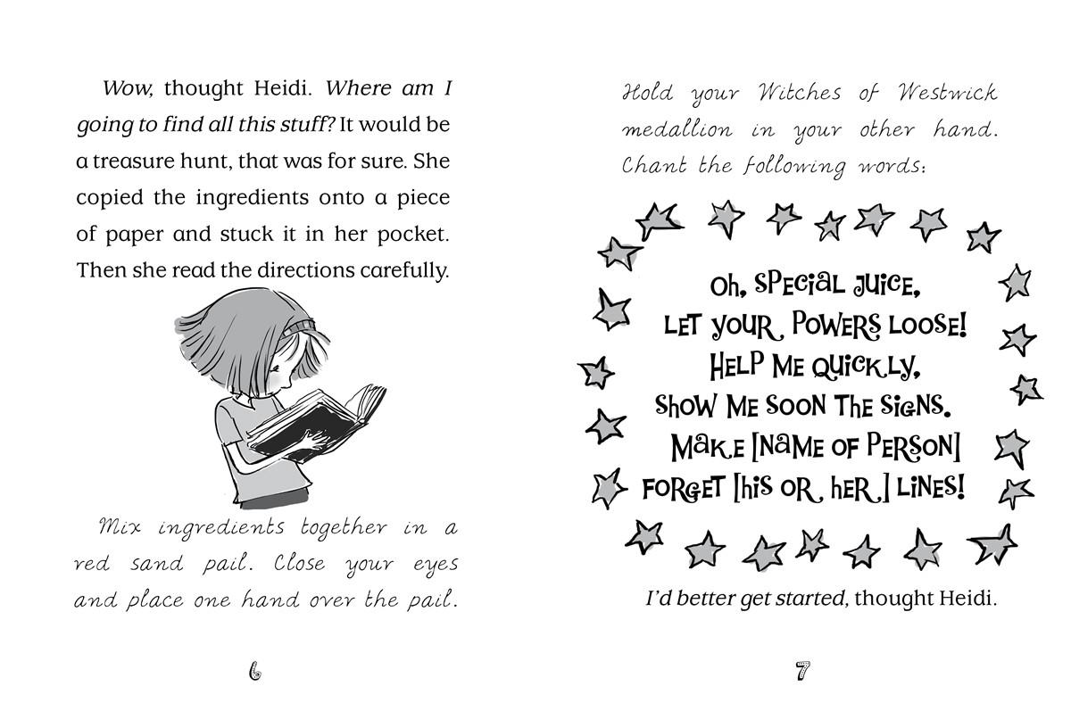 Heidi Heckelbeck Casts a Spell | Book by Wanda Coven, Priscilla